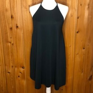 Zara Trafaluc Hunter Green Tank Dress Size Large